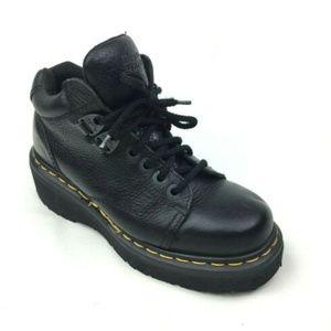 Doc Dr. Martens Black Ankle Boots sz 5 US Size 7